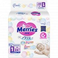 Подгузники «Merries» для новорожденных, 0-5 кг, 24 шт.