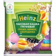 Каша гречневая «Heinz» груша, абрикос, смородина, 30 г.