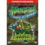 DVD-диск «Черепашки-ниндзя: Битва драконов».