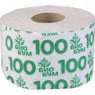 Бумага туалетная «Био Бум» 100 м, 1 рулон.
