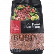 Рис красный рубин «Food Collection» нешлифованный, 450 г