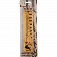 Термометр для бани «Невский банщик» спиртовой, 22х5 см.