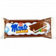 Пирожное бисквитное «Monte snack» орех, 29 г.