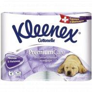 Туалетная бумага «Klenex» 4-хслойная, 4 рулона.