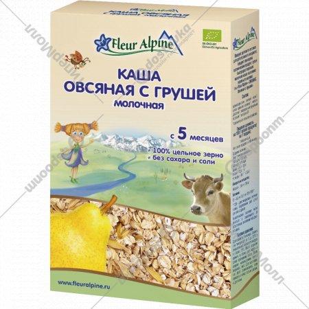 Каша овсяная молочная «Fleur Alpine» с грушей, 200 г.