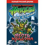 DVD-диск «Черепашки-ниндзя: Месть колдуна».