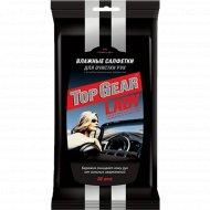Салфетки влажные «Top Gear» Lady, для рук антибактериальные, 30 шт.