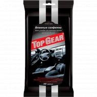 Салфетки влажные «Top Gear» для салона, 30 шт.