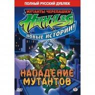 DVD-диск «Черепашки-ниндзя: Нападение мутантов».