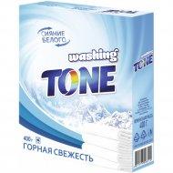 Стиральный порошок «Washing Tone» Горная Свежесть, Автомат, 0.4 кг