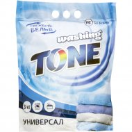 Стиральный порошок «Washing Tone» Универсал, Автомат, 3 кг
