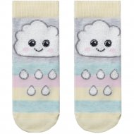 Носки детские «Tip-Tot» светло-серые, размер 14.