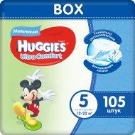 Подгузники «Huggies» Ultra Comfort, размер 5, 12-22 кг, 105 шт.