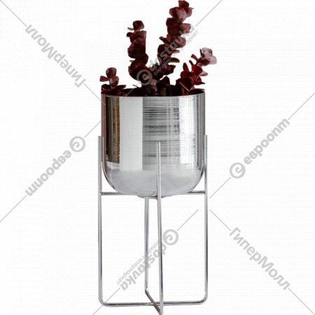 Цветочный горшок «Home&You» Silveros, 59667-SRE-OSLO-H0035