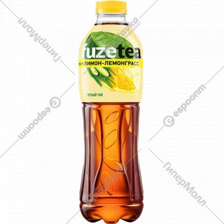Чай черный «Fuzetea» со вкусом лимон-лемонграсс, 1 л.