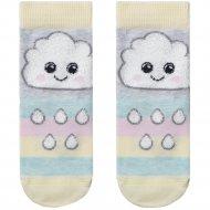 Носки детские «Tip-Tot» светло-серые, размер 16.