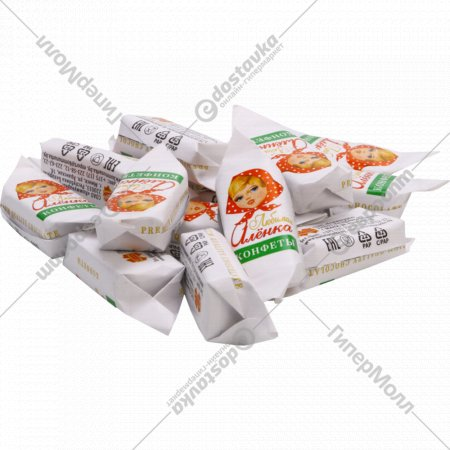 Конфеты «Любимая Алёнка» весовые, 1 кг., фасовка 0.3-0.4 кг