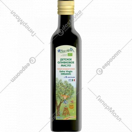 Детское оливковое масло «Fleur Alpine» с 6 месяцев, 250 мл.