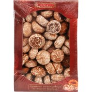 Пряники шоколадные «Годуновъ» со вкусом брусники, 800 г.