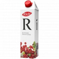 Морс «Rich» клюквенно-виноградный, 1 л.