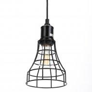 Светильник подвесной «ЭРА» PL10 BK, E27.