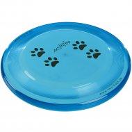 Диск из пластика «Trixie» для дрессировки собаки, Dog Disc, D- 23 см.