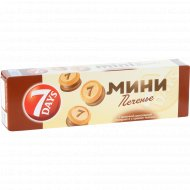 Печенье «7 Days» с молочной шоколадной глазурью и кремом какао, 100 г.