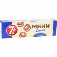 Печенье сдобное «7 Days» с кремом со вкусом ванили, 100 г.