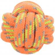 Игрушка «Trixie» для собак веревочный мяч, 6 см.