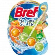 Туалетный блок «Bref» Perfume Switch, Сочный персик - Яблоко, 50 г