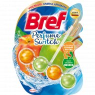 Туалетный блок «Bref» сочный персик-яблоко, для унитаза, 50 г