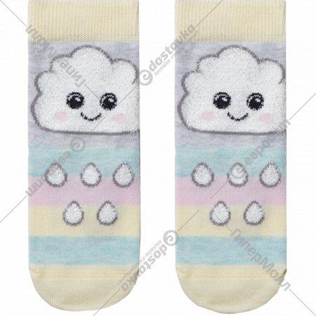 Носки детские «Tip-Tot» светло-серые, размер 20.