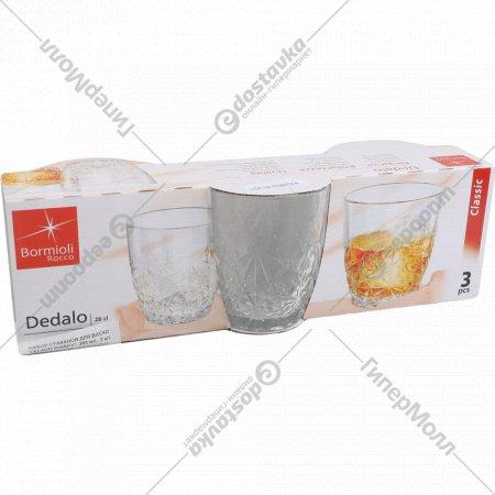 Набор стаканов «Delado Whisky» для виски, 260 мл, 3 шт.