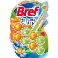 Туалетный блок «Bref» Perfume Switch, Сочный персик - Яблоко, 2x50 г