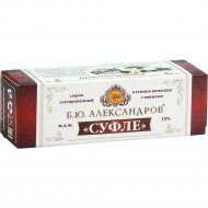 Сырок «Б.Ю.Александров» суфле в темном шоколаде с ванилью, 15%,40 г