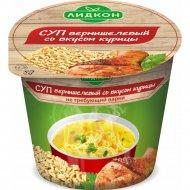 Суп вермишелевый «Лидкон» со вкусом курицы, 25 г.