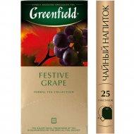 Чайный напиток «Greenfield» винограда, 25 пакетиков.