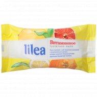 Туалетное мыло «Lilea» витаминное, 85 г.