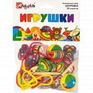 Развивающий набор «Игрушки» 16 элементов.