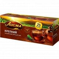 Чай чёрный «Лисма» крепкий, 25 пакетиков.