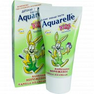 Зубная паста «Aquarelle Kids» ванильное мороженое, 50 мл.