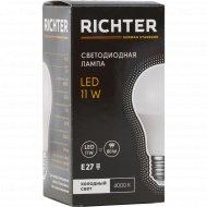 Лампа светодиодная «Richter» А60 11W 4000K E27