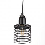 Светильник подвесной «ЭРА» PL5 BK.