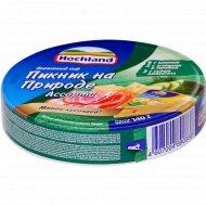 Сыр плавленный «Hochland» ассорти, пикник на природе, 55%, 140 г.