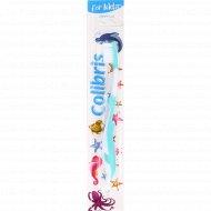 Зубная щетка детская «Colibris» мягкая.