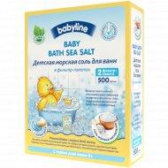 Детская морская соль для ванн «Babyline» 500 гр.