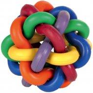 Игрушка «Trixie» Knot ball для собаки D-10см, разноцветная.