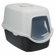 Туалет-дом для кошек «Trixie» Vico, бело-красный, 40х40х56 см.
