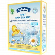 Детская морская соль «Baby Line» для ванн в фильтр-пакетах, 500 г.