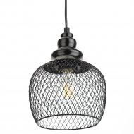 Светильник подвесной «ЭРА» PL8 BK.
